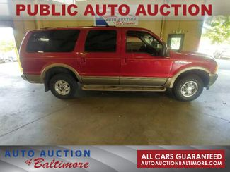 2001 Ford Excursion Limited   JOPPA, MD   Auto Auction of Baltimore  in Joppa MD