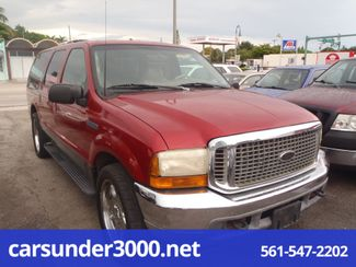 2001 Ford Excursion XLT Lake Worth , Florida