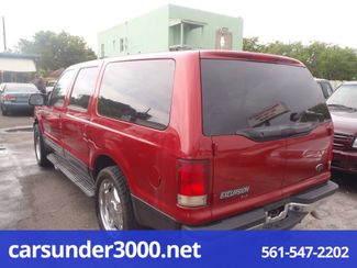 2001 Ford Excursion XLT Lake Worth , Florida 2
