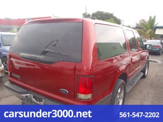 2001 Ford Excursion XLT Lake Worth , Florida 3