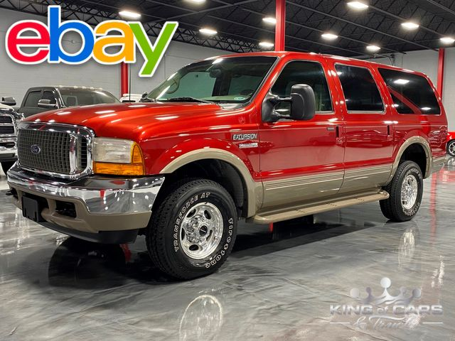 2001 Ford Excursion Limited 4X4 7.3L DIESEL LOW MILES 2-OWNER