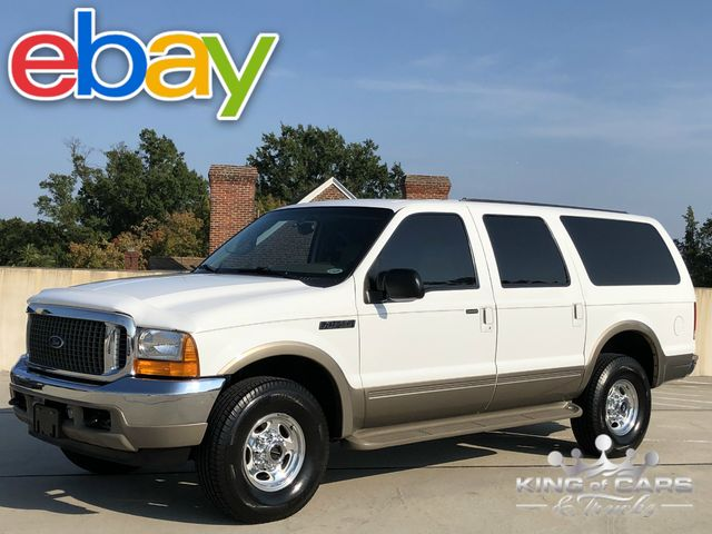 2001 Ford Excursion Limited 7 3l Turbo Diesel 73k Miles 1 Owner 4x4 Westville New Jersey King Of Cars And Trucks