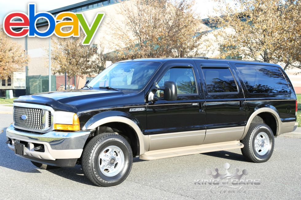2001 Ford Excursion Limited 7 3l 4x4 Westville New Jersey King Of Cars And Trucks