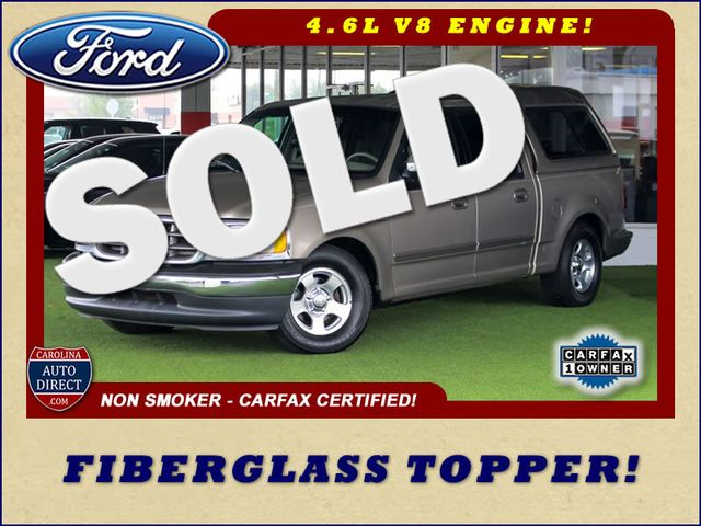 2001 Ford F-150 XLT SuperCrew RWD - FIBERGLASS TOPPER - ONE OWNER! Mooresville , NC