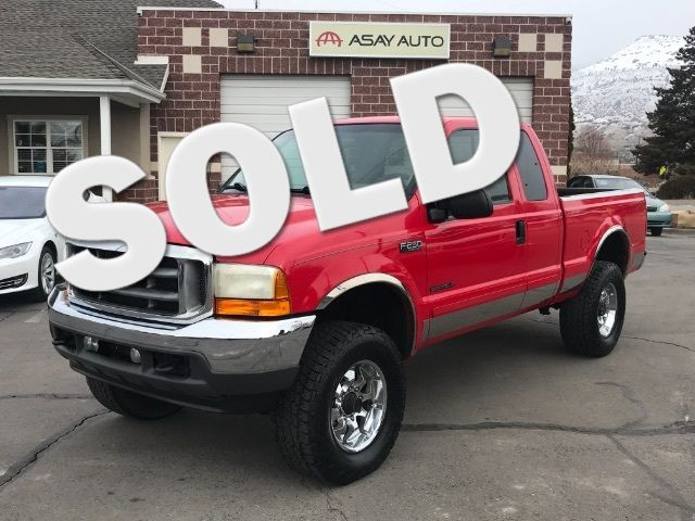 2001 Ford F-250 SD XL SuperCab Short Bed 4WD LINDON, UT