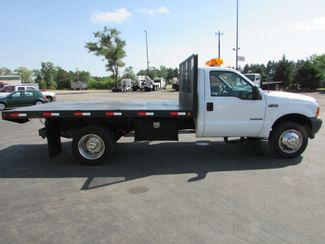 2001 Ford F-450 73 Reg Cab 4x2 12 Tipper Flatbed Truck   St Cloud MN  NorthStar Truck Sales  in St Cloud, MN