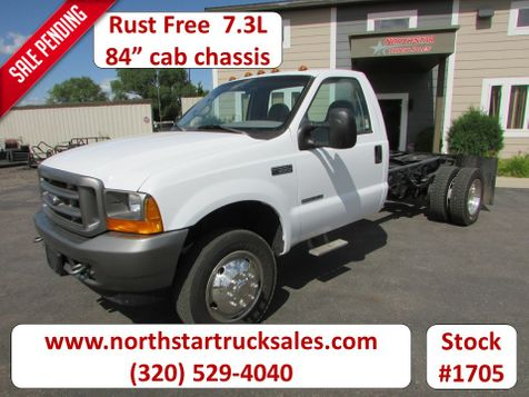2001 Ford F-550 4x2 7.3 Diesel Cab Chassis  in St Cloud, MN