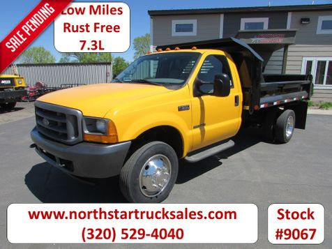 2001 Ford F-550 7.3 4x2 Reg Cab 11' Contractor dump  in St Cloud, MN