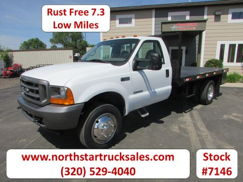 2001 Ford F-550 7.3 Flatbed Truck  in St Cloud, MN