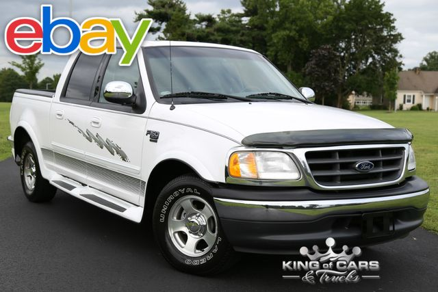 2001 Ford F150 Crew Cab 103K ORIGINAL MILES 1-OWNER CLEAN CARFAX MINT