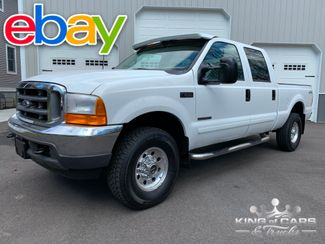 2001 Ford F250 Crew Cab 7.3L DIESEL 4X4 XLT LOW MILE SHORT BED RARE in Woodbury, New Jersey 08093