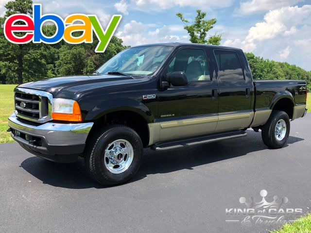 2001 Ford F250 Crew Cab LARIAT SHORTBED 7.3L DIESEL 4X4 ONLY 11K MILE