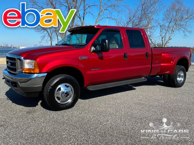 2001 Ford F350 Crew Cab 7.3l DIESEL 4X4 LARIAT 37K MILES 1-OWNER WOW in Woodbury, New Jersey 08096