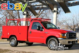 2001 Ford F350 Reading Utility Body 7.3l Diesel LOW MILES 1-OWNER MANUAL XL in Woodbury, New Jersey 08093