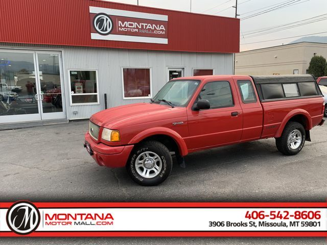 2001 Ford Ranger Super Cab Pickup 2D