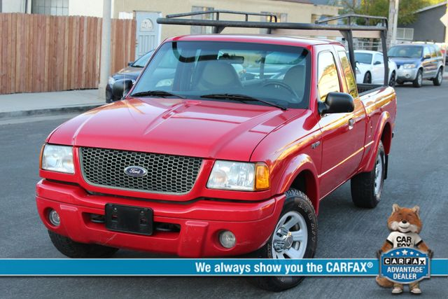 2001 Ford RANGER XLT SUPERCAB SERVICE RECORDS
