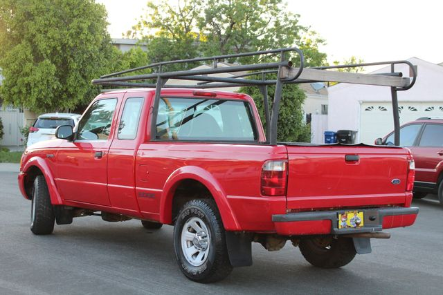 2001 Ford RANGER XLT SUPERCAB SERVICE RECORDS in Van Nuys, CA 91406