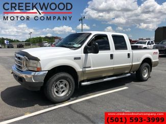 2001 Ford Super Duty F-250 Lariat 4x4 White 7.3 Diesel Leather New Tires NICE in Searcy, AR 72143