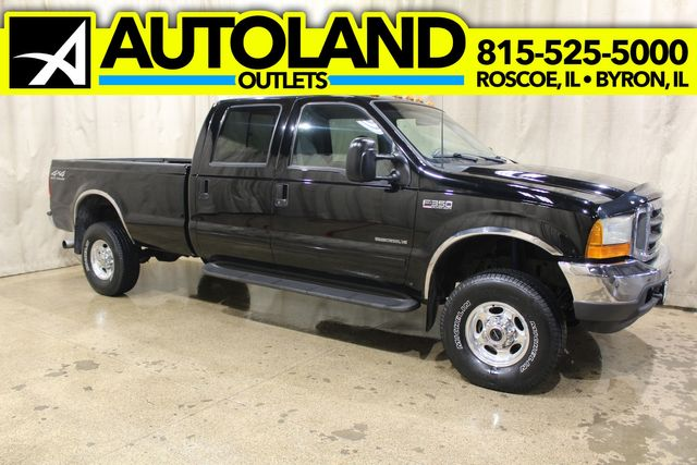 2001 Ford Super Duty F-350 Diesel 4x4 Long Bed Lariat