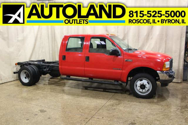 2001 Ford Super Duty F-450 cab and chassis 4wd diesel XL