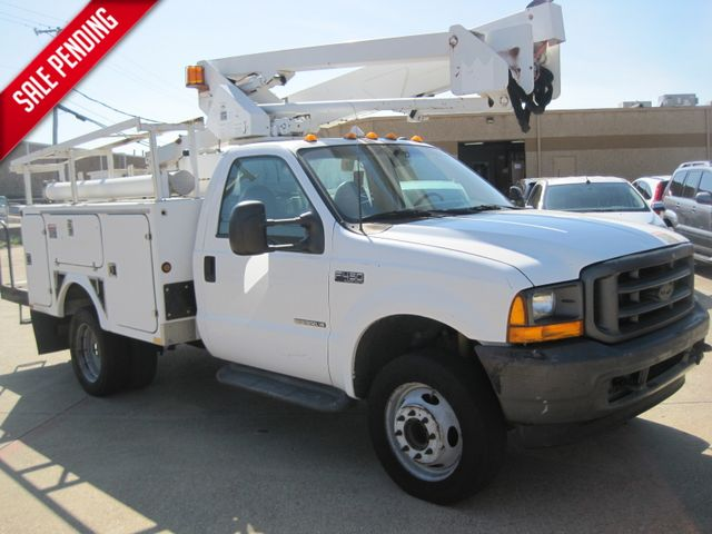 2001 Ford Super Duty F-450 XL, High Lift Bucket Truck 7.3 Diesel, Works Perfect