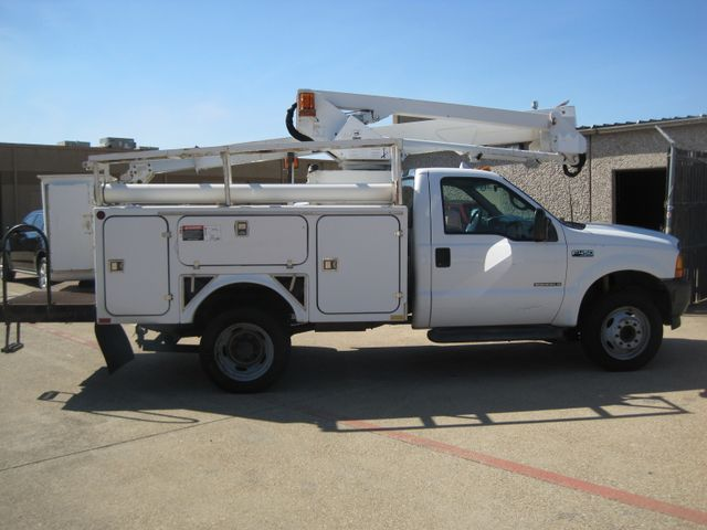 2001 Ford Super Duty F-450 XL, High Lift Bucket Truck 7.3 Diesel, Works Perfect in Plano Texas, 75074
