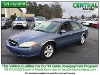 2001 Ford Taurus SE   Hot Springs, AR   Central Auto Sales in Hot Springs AR