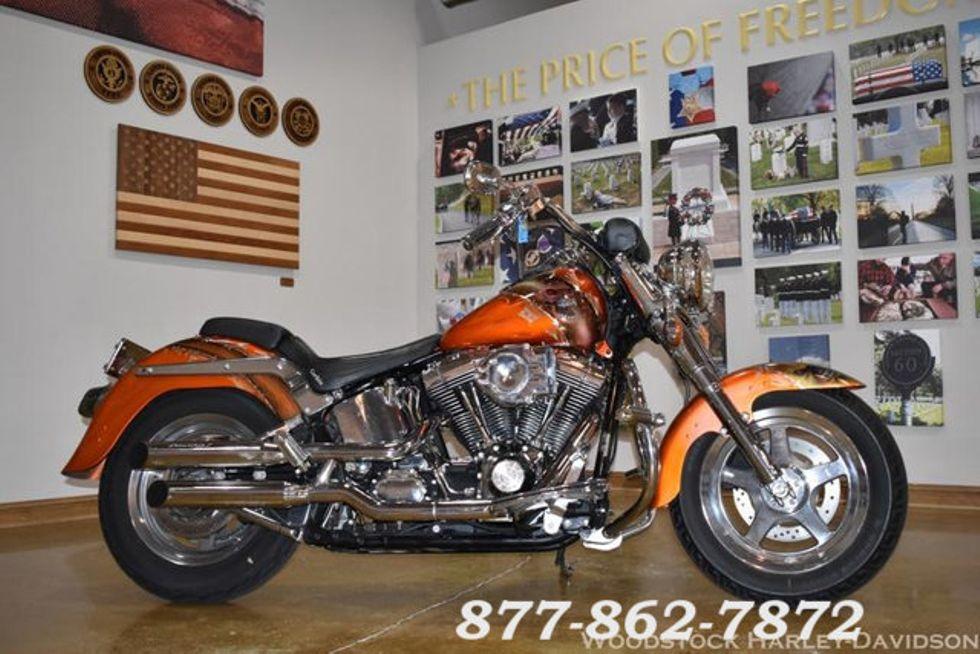 2001 Harley-Davidson SOFTAIL FAT BOY FLSTF FAT BOY FLSTF
