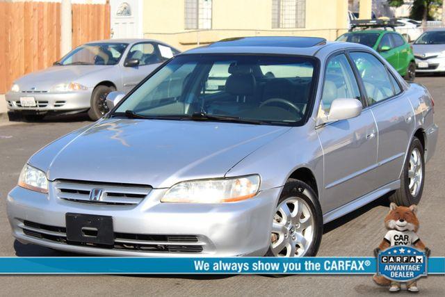 2001 Honda ACCORD EX/LEATHER SEDAN SERVICE RECORDS AVAILABLE