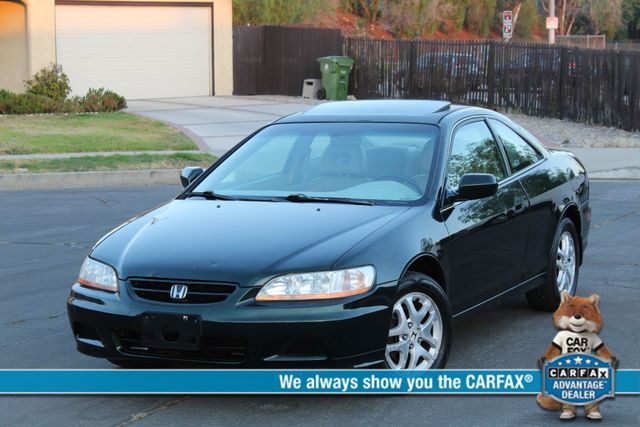 2001 Honda ACCORD EX COUPE W/LEATHER SUNROOF ALLOY WHLS