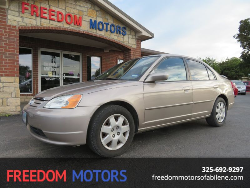 2001 Honda Civic EX | Abilene, Texas | Freedom Motors  in Abilene Texas