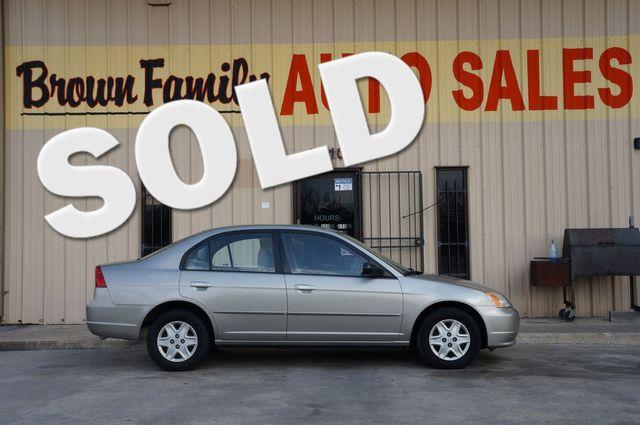2001 Honda Civic EX | Houston, TX | Brown Family Auto Sales in Houston TX