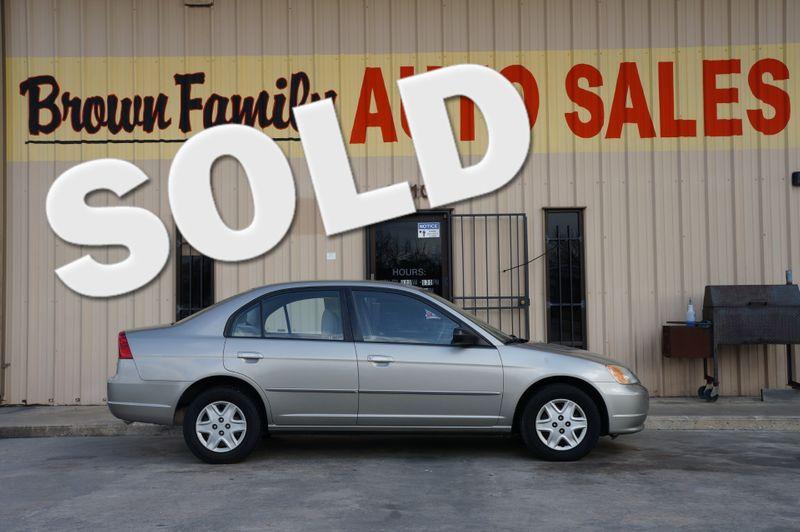 2001 Honda Civic EX   Houston, TX   Brown Family Auto Sales in Houston TX