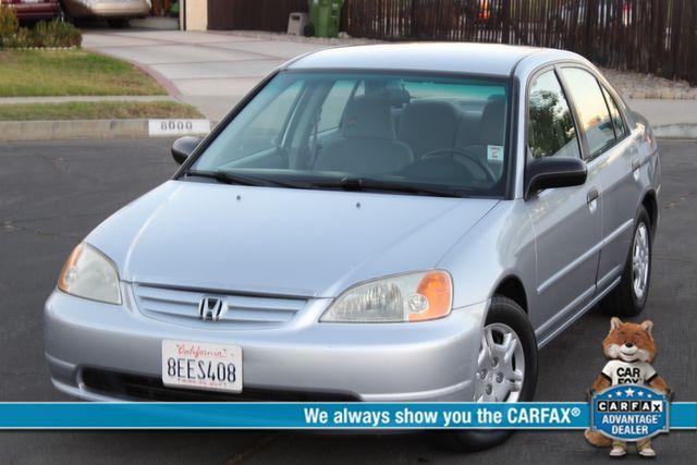2001 Honda CIVIC LX SEDAN A/C NEW TIRES in Woodland Hills CA, 91367
