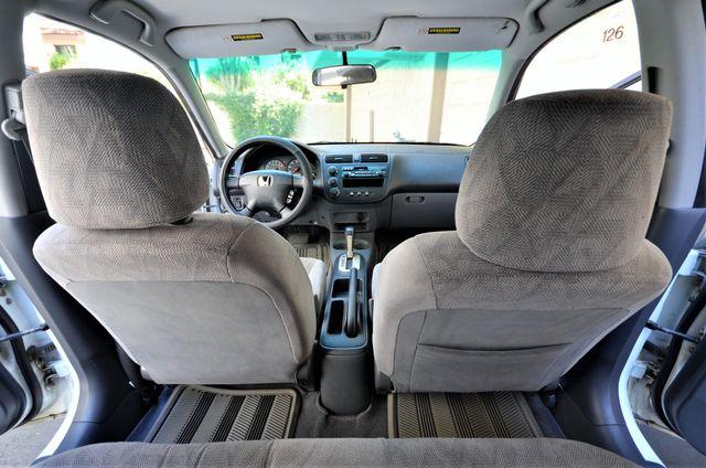 2001 Honda Civic LX Reseda, CA 8