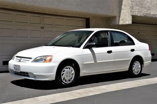 2001 Honda Civic LX Reseda, CA 4