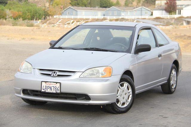 2001 Honda Civic LX Santa Clarita, CA 4