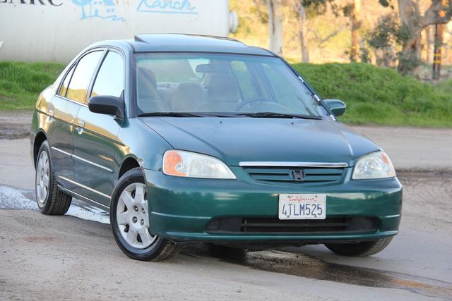 2001 Honda Civic EX Santa Clarita, CA 3