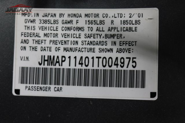 2001 Honda S2000 Merrillville, Indiana 44