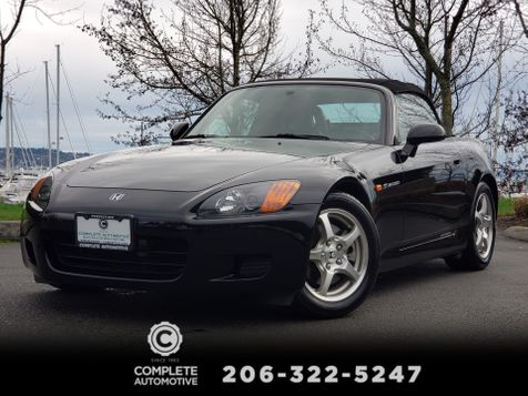 2001 Honda S2000 Roadster 65,000 Miles Local History Excellent Condition!  in Seattle