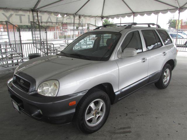 2001 Hyundai Santa Fe GLS Gardena, California