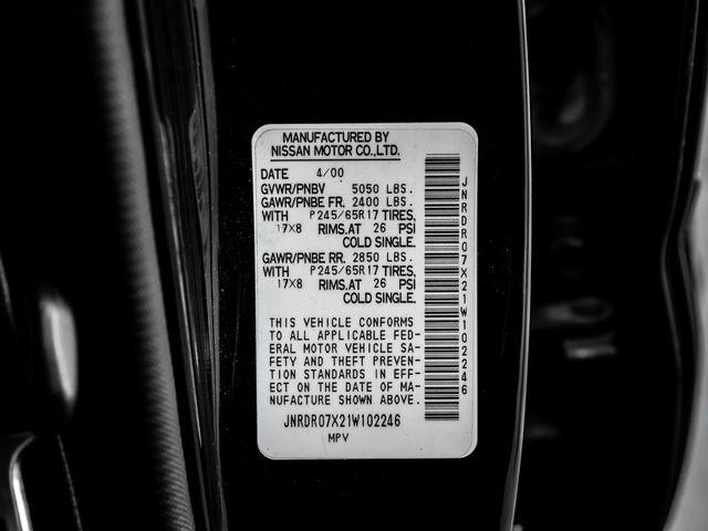 2001 Infiniti QX4 Luxury Burbank, CA 27