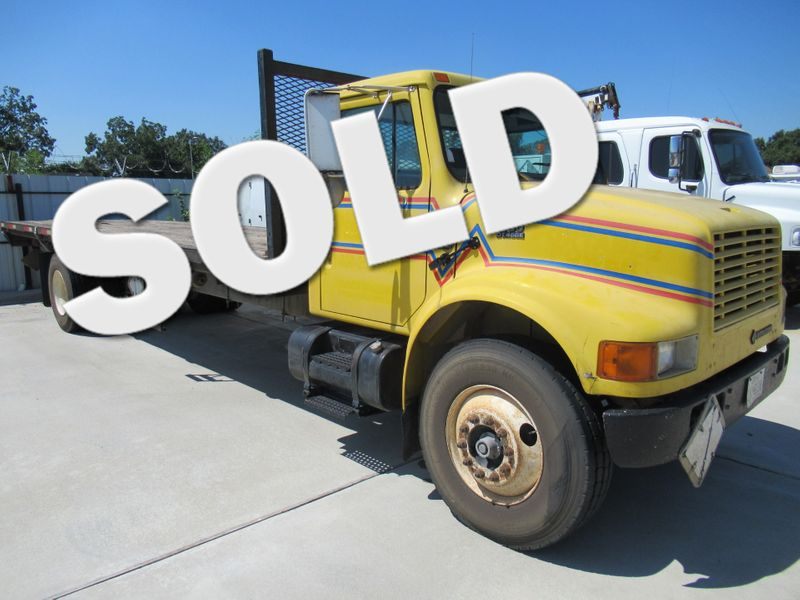 2001 International 4700 FLAT BED   Houston, TX   American Auto Centers in Houston TX