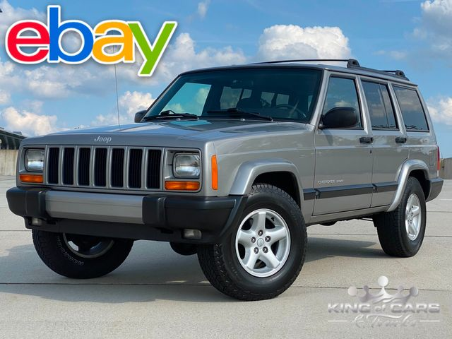 2001 Jeep Cherokee 4wd 1-OWNER ONLY 89K MILES WOW 4.0L V6 MUST SEE