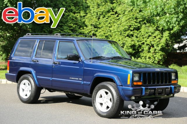 2001 Jeep Cherokee Limited XJ 111K MILE CLEAN CARFAX RUST FREE 4X4