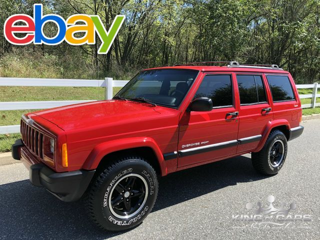 2001 Jeep Cherokee Sport XJ 65K MILES 1-OWNER 4X4 ONE OF A KIND MINT in Woodbury, New Jersey 08096