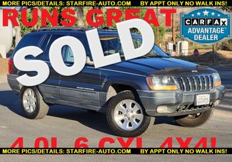2001 Jeep Grand Cherokee Laredo 4x4 Santa Clarita, CA