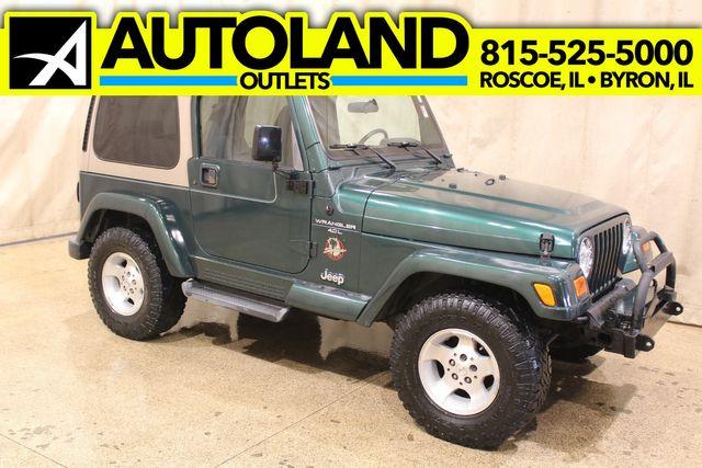 2001 Jeep Wrangler 4x4 Arizona Rust Free Sahara