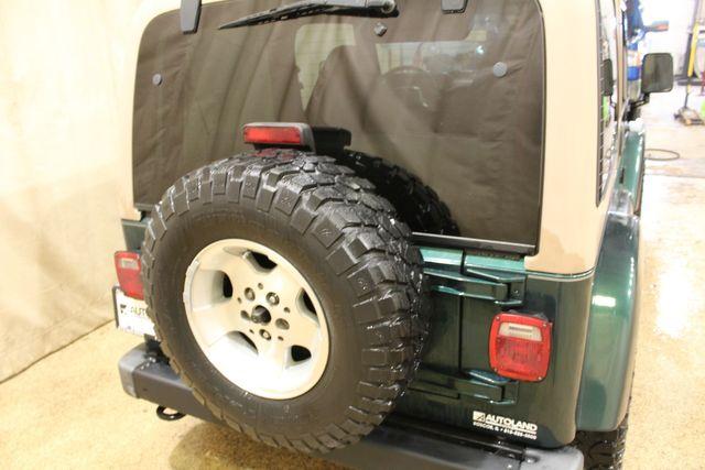 2001 Jeep Wrangler 4x4 Arizona Rust Free Sahara in Roscoe, IL 61073