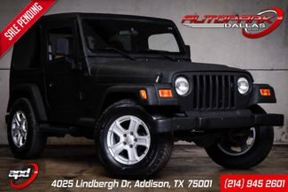 2001 Jeep Wrangler SE in Addison, TX 75001